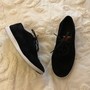 Cole Haan leather suede tennis walking shoes